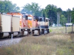Coal train EB through Bemidji